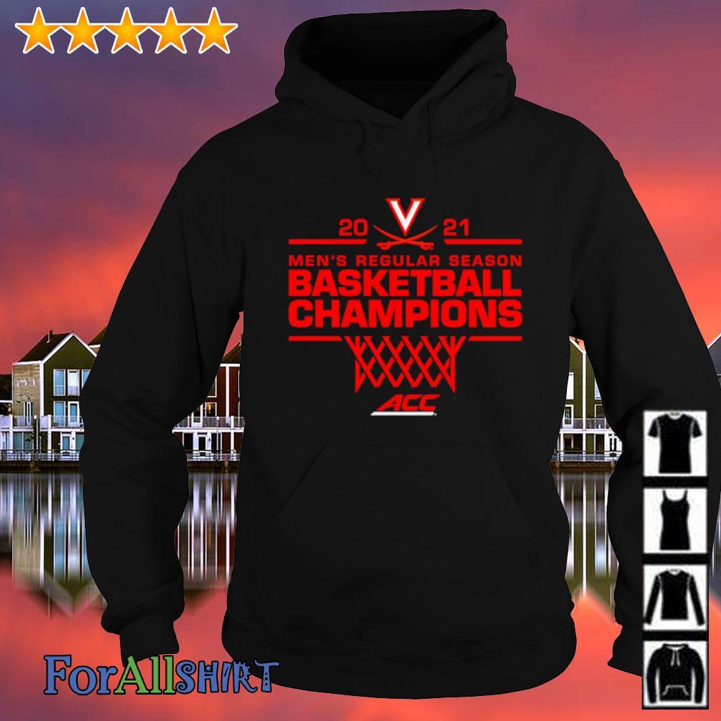 Virginia Cavaliers 2021 ACC Men's Regular Season Basketball Champions s hoodie