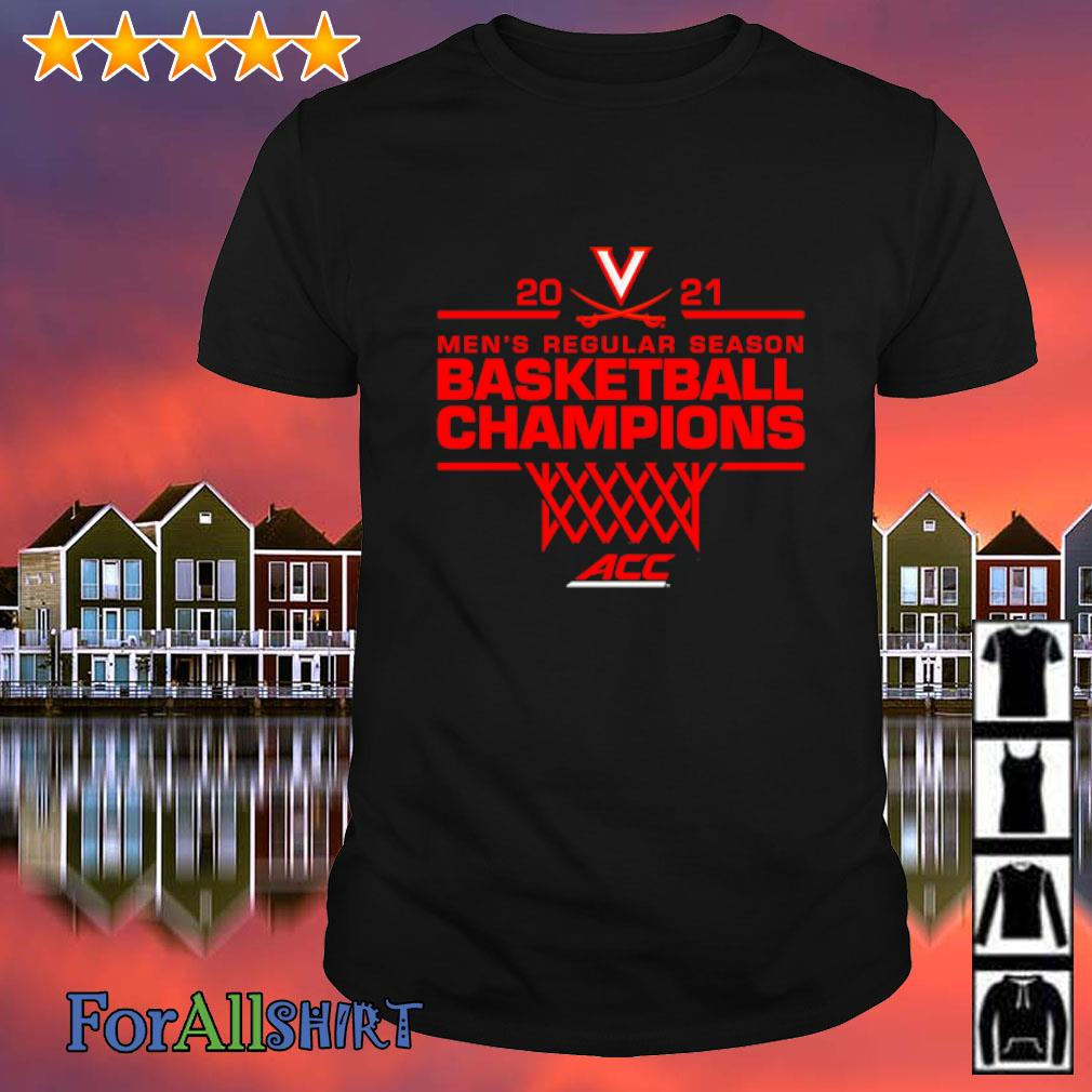 Virginia Cavaliers 2021 ACC Men's Regular Season Basketball Champions shirt