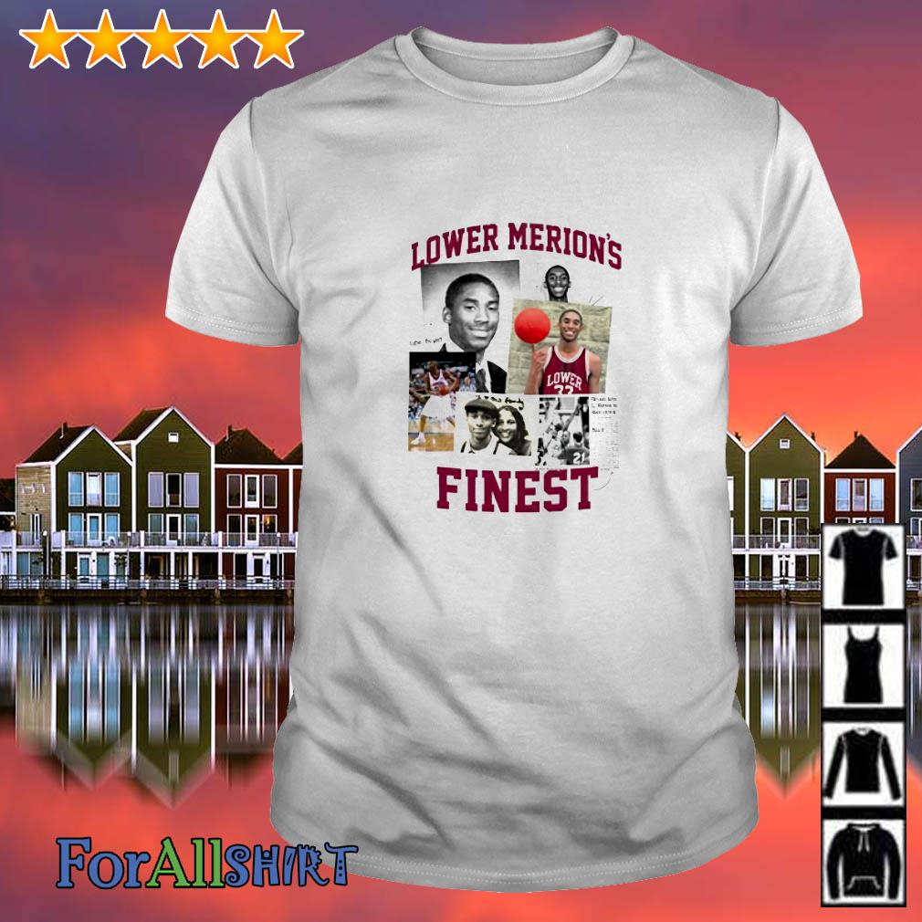 Kobe Lower Merion finest shirt