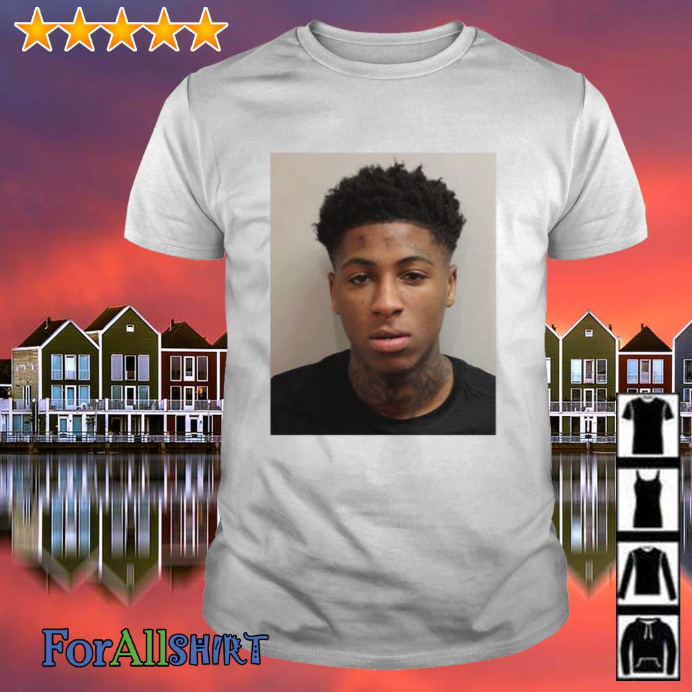 NBA YoungBoy Mugshot shirt