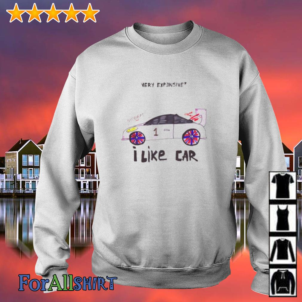 Very Expensive I like car s sweater