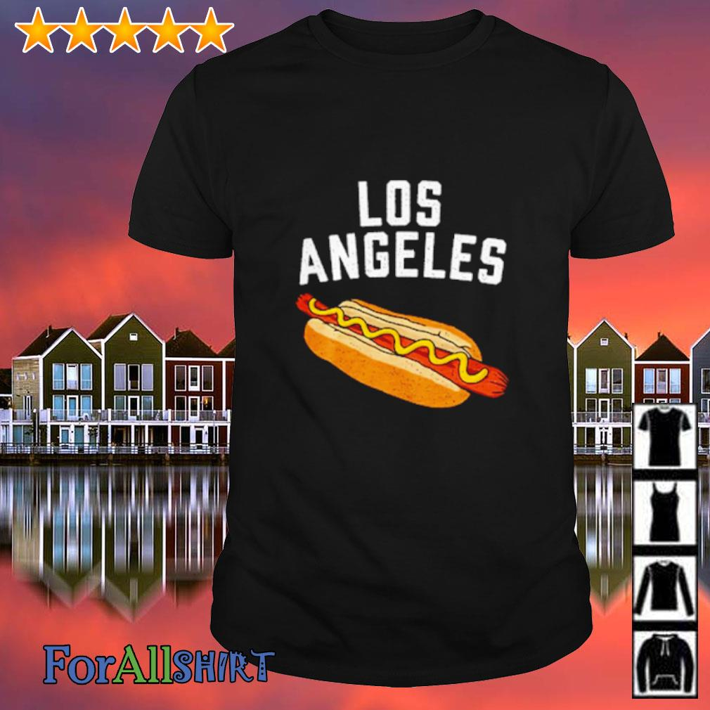 Los angeles hot dog shirt