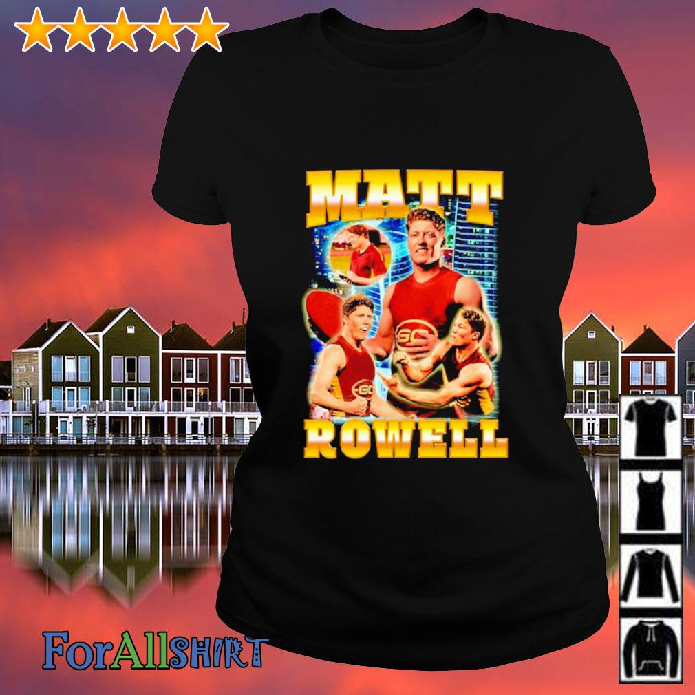 Matt Rowell Bootleg s ladies tee