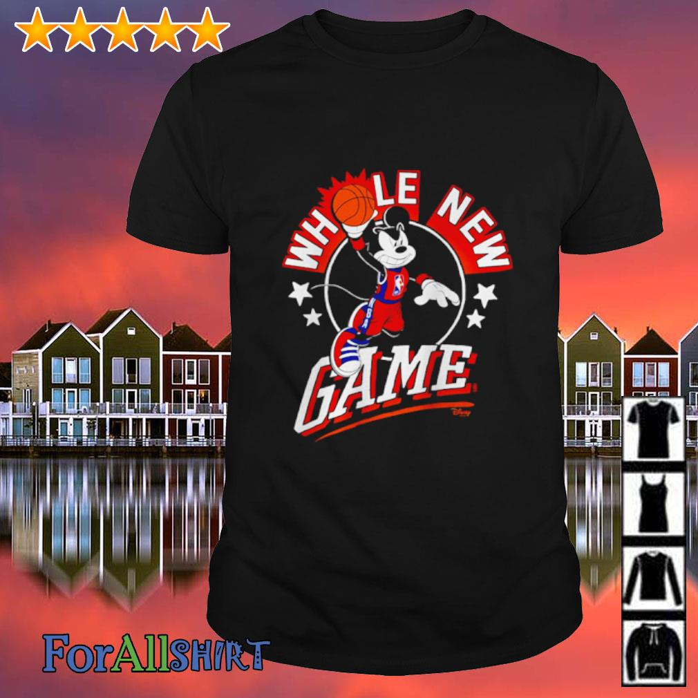 NBA Junk Food Disney Whole New Game shirt