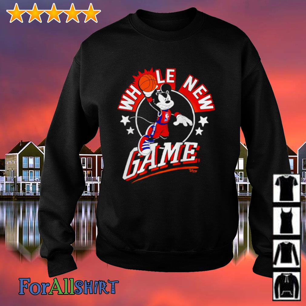 NBA Junk Food Disney Whole New Game s sweatshirt
