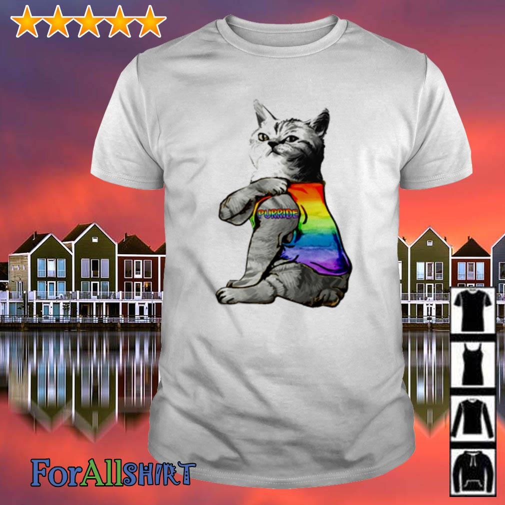 This image has an empty alt attribute; its file name is cat-tattoo-purride-lgbt-shirt.jpg