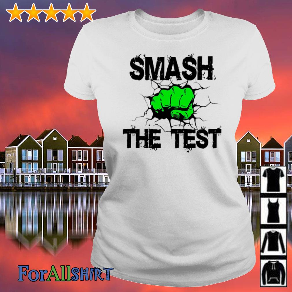 smash the test shirt, hoodie,sweater and v-neck t-shirt