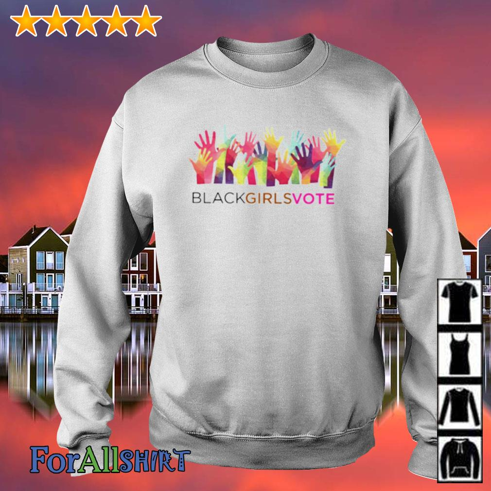 Black girls vote logo s sweater