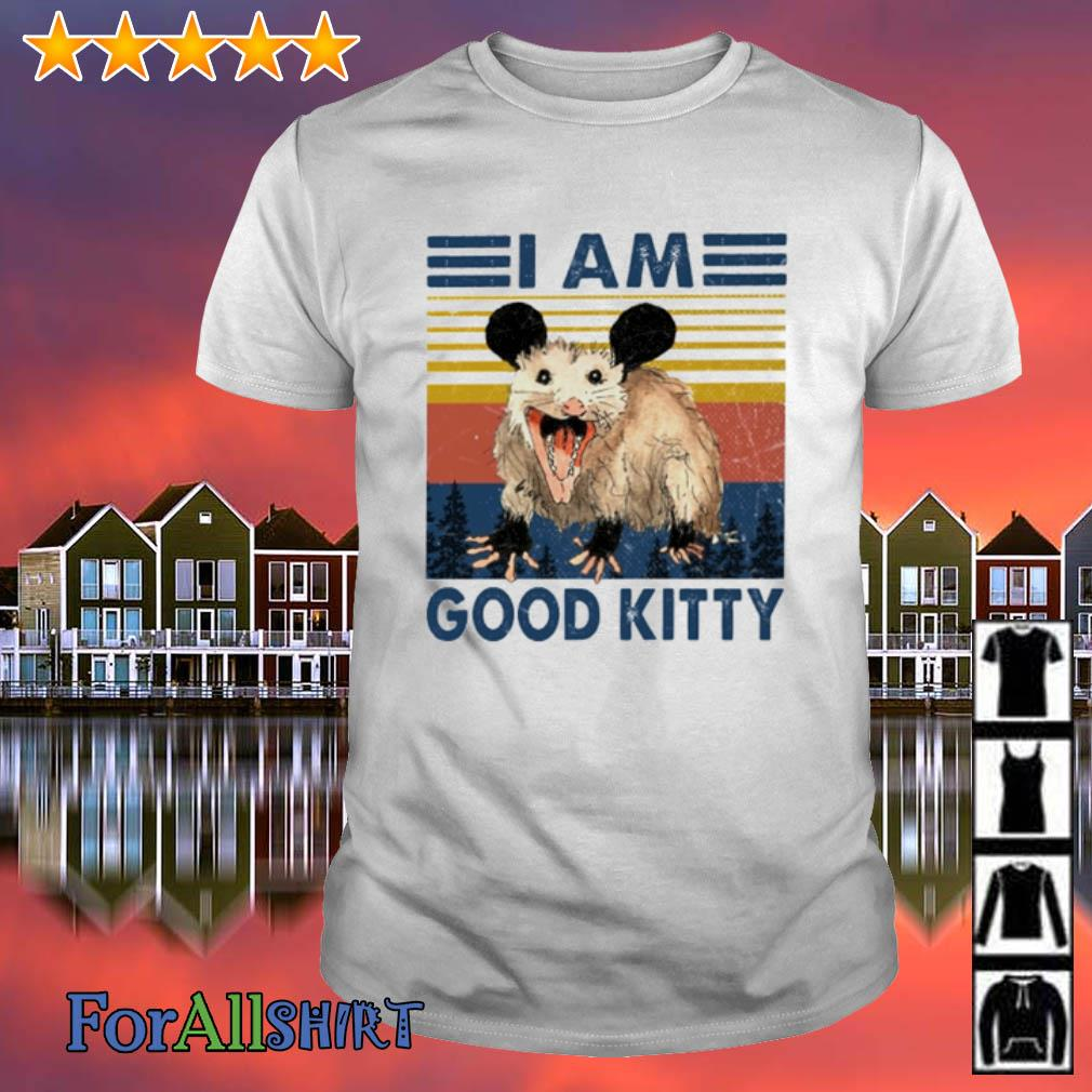 Mouse I am good kitty vintage shirt