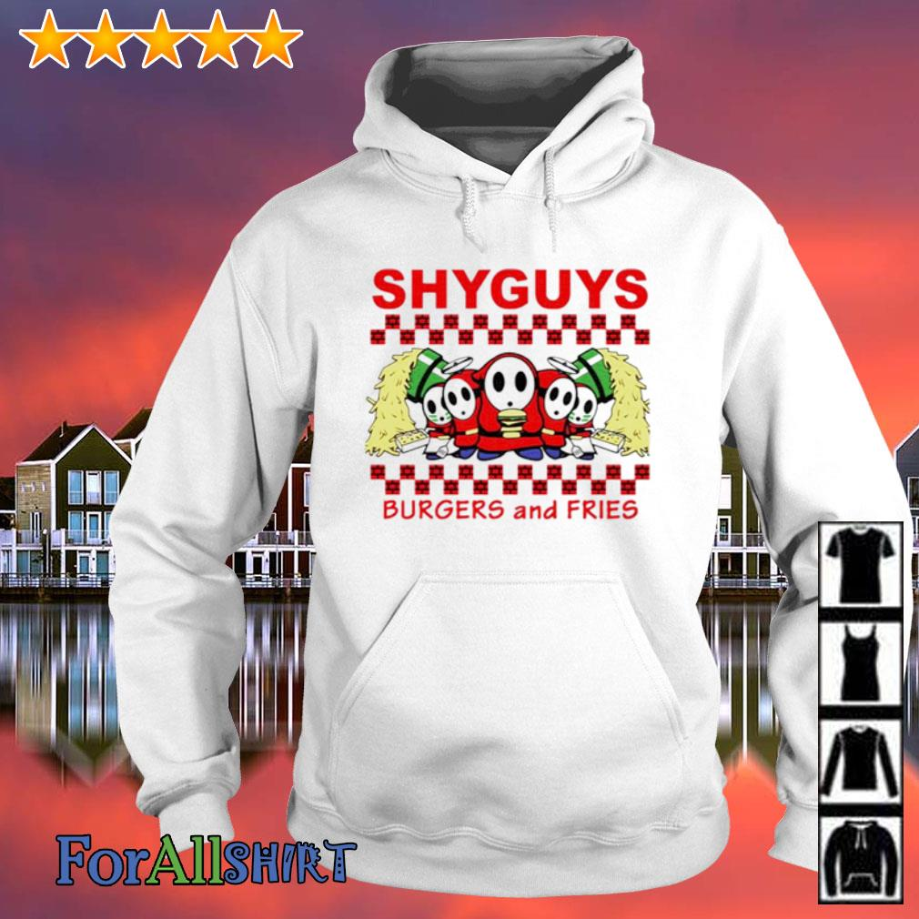 Shyguys Burgers and Fries s hoodie