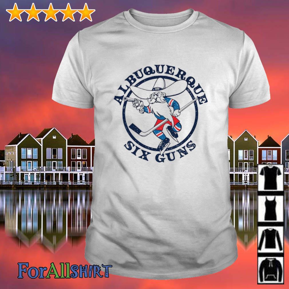 Albuquerque six guns hockey shirt