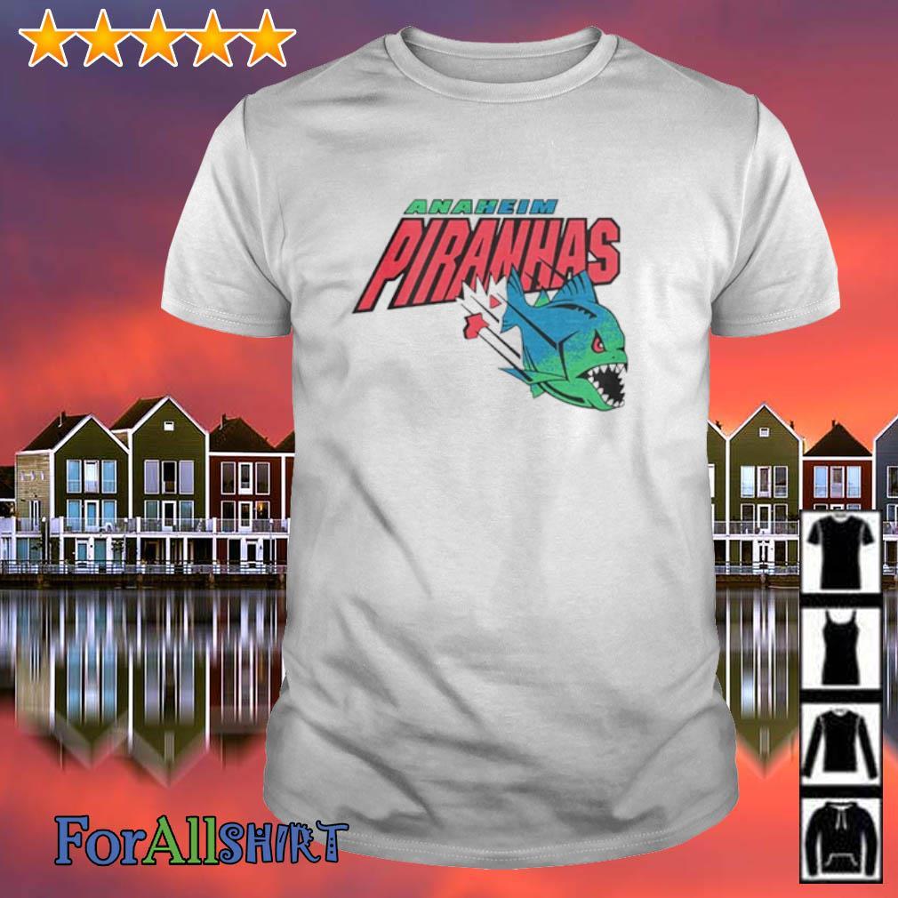 Anaheim piranhas Arena Football shirt