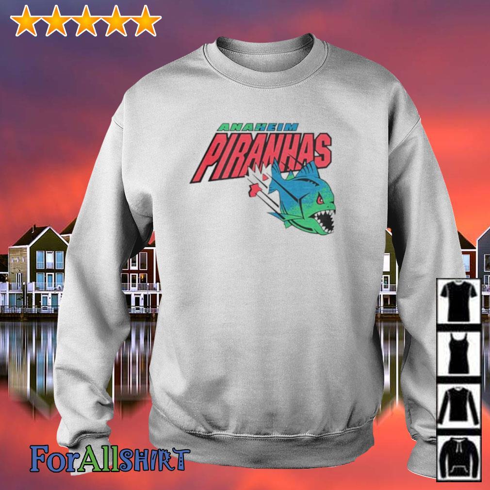 Anaheim piranhas Arena Football s sweater