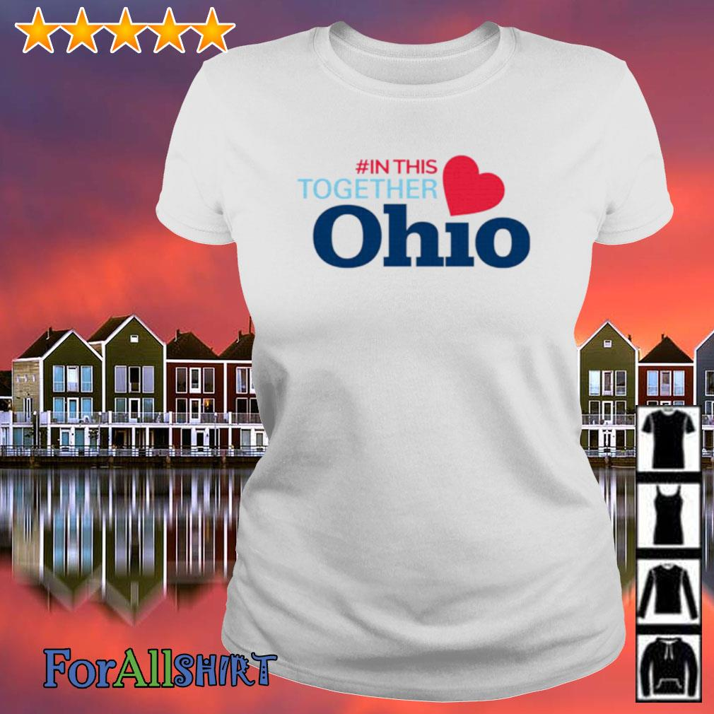 #In This Together Ohio s ladies tee