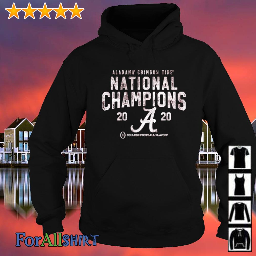 Alabama Crimson Tide National Champions 2020 College football playoff s hoodie