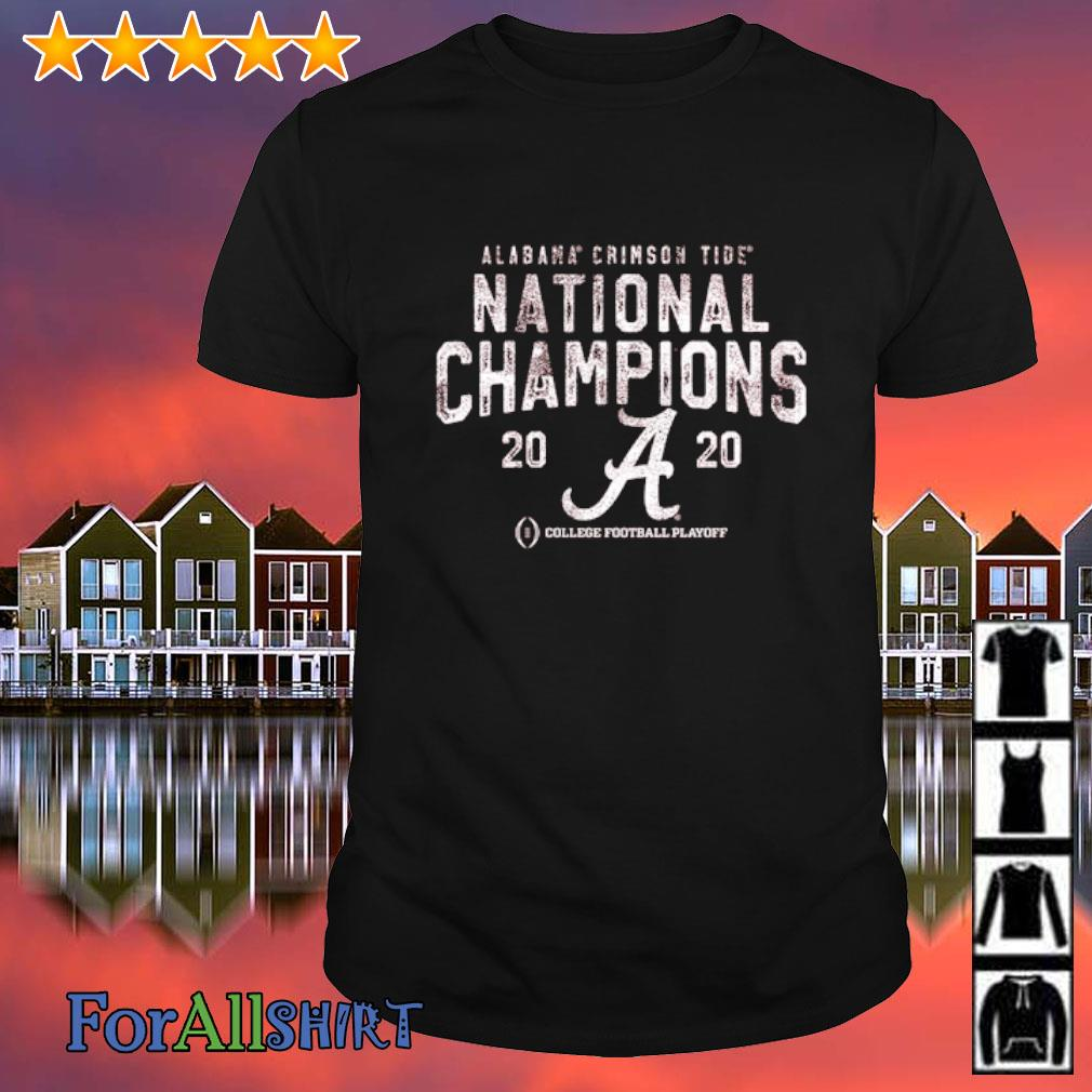 Alabama Crimson Tide National Champions 2020 College football playoff shirt