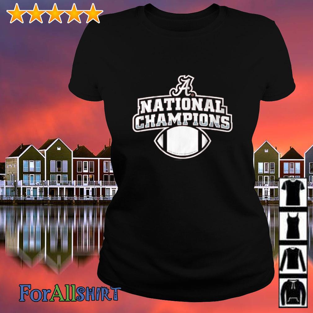 Alabama National Champions s ladies tee