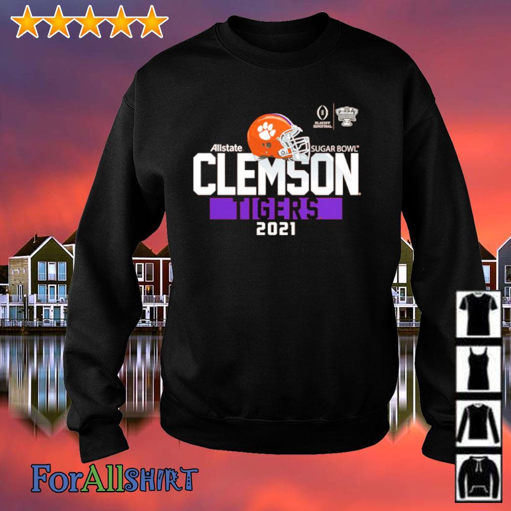 Clemson Tigers College Football Playoff 2021 Sugar Bowl Bound Backfield s sweatshirt