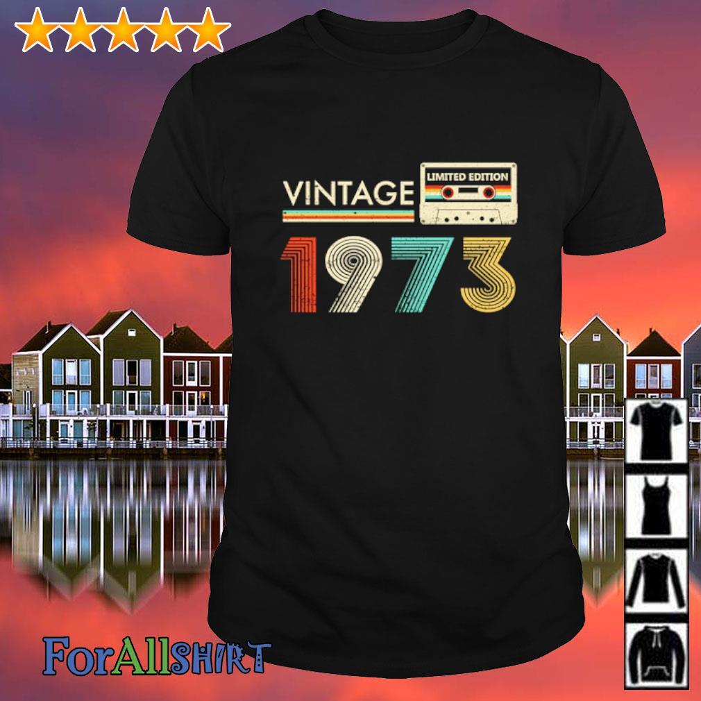 Vintage 1973 Limited Cassette shirt